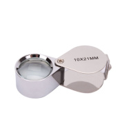 Z ZTDM 10X 21mm Jewellery Identifying Magnifier Magnifying Glass