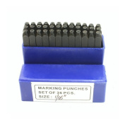 Letter and Number Stamp Set 0.2cm 36pcs - SFC Tools - 55-405