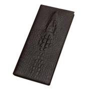 Morecome Bifold Wallet Men Leather Credit/ID Card Holder Billfold Purse Long Wallet