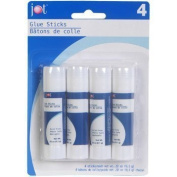 Jot Glue Sticks, .950ml Stick, 4 ct. Pack by JOT