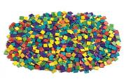 Wood Mosaic Squares - 1000 Pieces