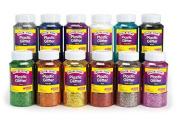 Black Colorations® Extra-Safe Plastic Glitter - 0.5kg.