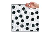 Jumbo Black Wiggly Eyes - Pack of 100