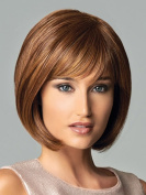 B-G New Fashion Women's Full Wig short straight Hair Heat Resistant Wigs Human Hair Wigs + 1 Free Wig Cap WIG065