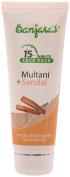Banjara's 15 Minutes Multani + Sandal Face Pack, Brown 100 gms