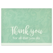 Thank You - All You Do Card - Pack of 25