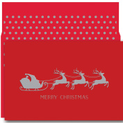 Masterpiece Studios Christmas Sleigh, 18 Cards/18 Foil Lined Envelopes