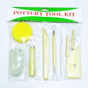 Art Clay Tools 8 Sets of Carving Tools Clay Pottery Tools DIY Authoring Tools