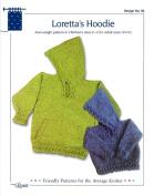 Design by Louise Knitting Pattern #39 Loretta's Hoodie