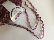 Athena Ribbon Yarn #65 Pinks, Black, Grey - Plymouth Yarn 50 gramme