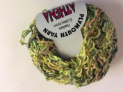 Athena Ribbon Yarn #181 Greens & Rosy Beige - Plymouth Yarn 50 gramme