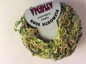 Athena Ribbon Yarn #181 Greens & Rosy Beige - Plymouth Yarn 50 gramme