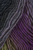 Plymouth - Gina Knitting Yarn - Charcoal/ Mauve/ Lime