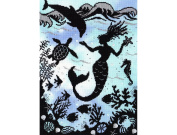 Bothy Threads Mermaid Cove Enchanted Series Counted Cross Stitch Kit Xe1 Silver 26x36cm