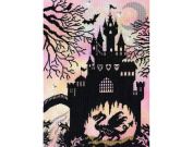 Bothy Threads Dragon Castle Enchanted Series Counted Cross Stitch Kit Xe2 26x36cm