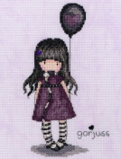 Bothy Threads Gorjuss The Balloon Counted Cross Stitch Kit
