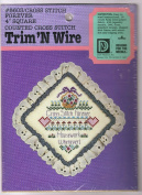 Cross Stitch Forever Housework Whenever - Trim N Wire Cross Stitch Kit 8603