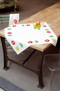 Vervaco Tablecloth Fruit Cross Stitch Kit