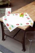 Vervaco Tablecloth Fruit Cross Stitch Kit