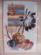 Native Heritage Bucilla Crewel Embroidery Kit 40869