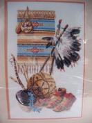 Native Heritage Bucilla Crewel Embroidery Kit 40869