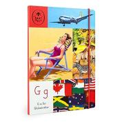 Vintage Ladybird B5 Globetrotter Notebook