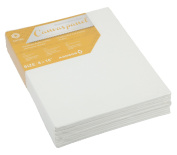 CONDA 8×25cm Canvas Panels Pack of 12 Artist Quality Acid Free Canvas Board