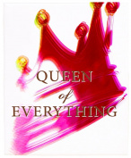 Positively Home Queen of Everything_Pink3 Queen of Everything Watercolour Painting Print on Wrapped Canvas, 60cm X 90cm , Pink,60cm X 90cm
