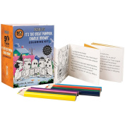 Peanuts It's The Great Pumpkin Charlie Brown 10cm Cards & Pencils Colouring Kit