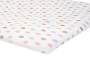 Zack & Tara Bassinet Sheet - Pretty Polka