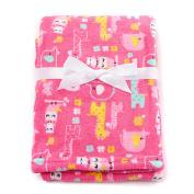 Baby Girl Baby Gear Safari Girl Velboa Blanket