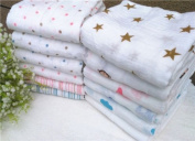 Baby Swaddle Blanket 100% Cotton 115X115cm Baby Sleeping Swaddle Muslin Wrap