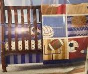 Tiddliwinks Mod Sport Crib Dust Ruffle