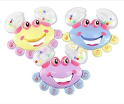 2016 Rainobwkids Limited New Blue Yellow Purple Unisex Bb Brinquedo Playgro Baby Rattle Infant Toys Animal Rattles Baby Crab Handbell Toy ,For 0-24 Months