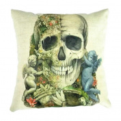 DATEWORK Halloween Pillow Case Sofa Waist Throw Cushion Cover