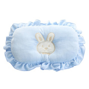 Scheppend Newborn Anti-roll Correct Head Type Prevent Flat Head Pillow,Blue