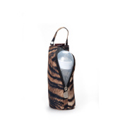 Gitta Baby Travel Thermal Bottle Holder Keep Worm / Cold Cover, Leopard