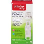 Playtex Drop-Ins Pre-sterilised BPA-Free Bottle Liners for Playtex Nurser Bottles 100 Count 240ml