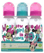 "Minnie Mouse ""Dear Minnie"" 3-Pack Bottles - fuchsia, one size"