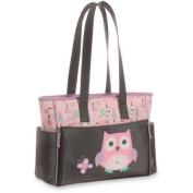 Baby Boom Owl Print Tote Nappy Bag