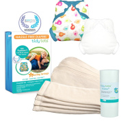 Tidy Tots Nappy Hassle Free 4 Nappy Snap Essential Set
