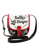 DC Comics Suicide Squad Daddy's Lil Monster Crossbody Saddle Bag
