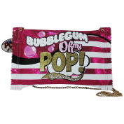 Pop Art Bubble Gum Crossbody Bag Crossover Free Time Bag for Girls