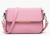 YouNuo Women's Candy Colour PU Leather Small Sstchel Handbag Crossbody Shoulder Purse for Girls