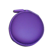 TIFENNY Portable Mini Round Hard Storage Case Bag for Earphone Headphone SD TF Cards