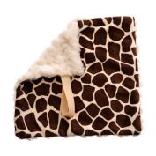 Giraffe Baby Pacifier Blanket