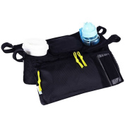 Yodosun Waterproof Stroller Organiser Storage Bag With Mobile Phone Holder