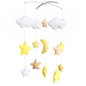 Handmade Plush Hanging Toys Exquisite Baby Crib Bed Bell [Starry Sky]