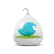 Tinksky Hand-held Design Rechargeable Touch Sensor USB LED Baby Night Birdcage Lamp with Touch Dimmer for Kids
