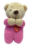 Teagan Prayer Musical Teddy Bear Pink - Spanish - Angel De Laguardia